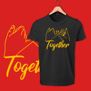 Together Round neck Tshirt