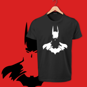 black Bat Man round neck tshirts