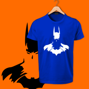 blue Bat Man round neck tshirts