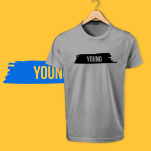 Grey Young Tshirt by OTP tshirts