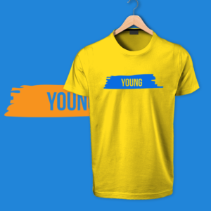 yellow Young Tshirt by OTP tshirts