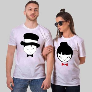 girl boy couple tshirt