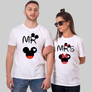 Mr. Mrs. Couple Tshirts